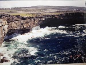 Cliffs on Inishmor