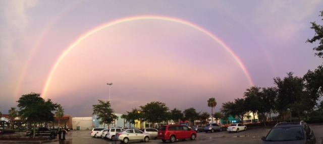 Double Rainbow over Orlando http://whomerun.com