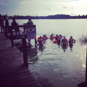 Lucky's Lake Swim http://whomerun.com